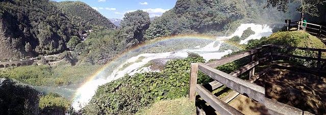 World Water Forum 2024. Cascata delle MArmore. Via Wikimedia Commons.