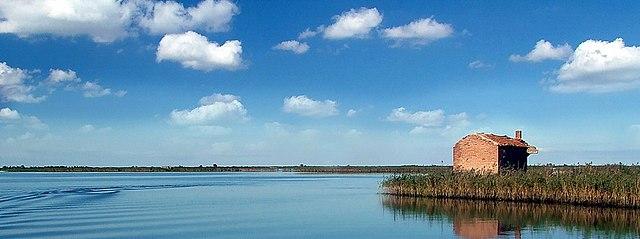 World Water Forum 2024. Delta del Po. Via Wikimedia Commons.
