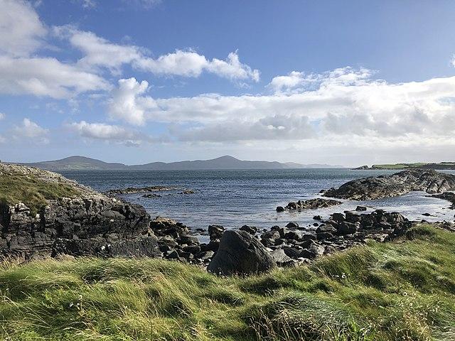 Farranamanagh Bay, Irlanda orientale. Via Wikimedia Commons.
