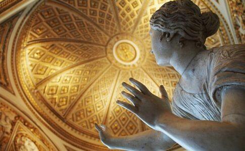 Uffizi: riapertua 2021. Opera: Figlia di Niobe. Bia Wikimedia Commons.