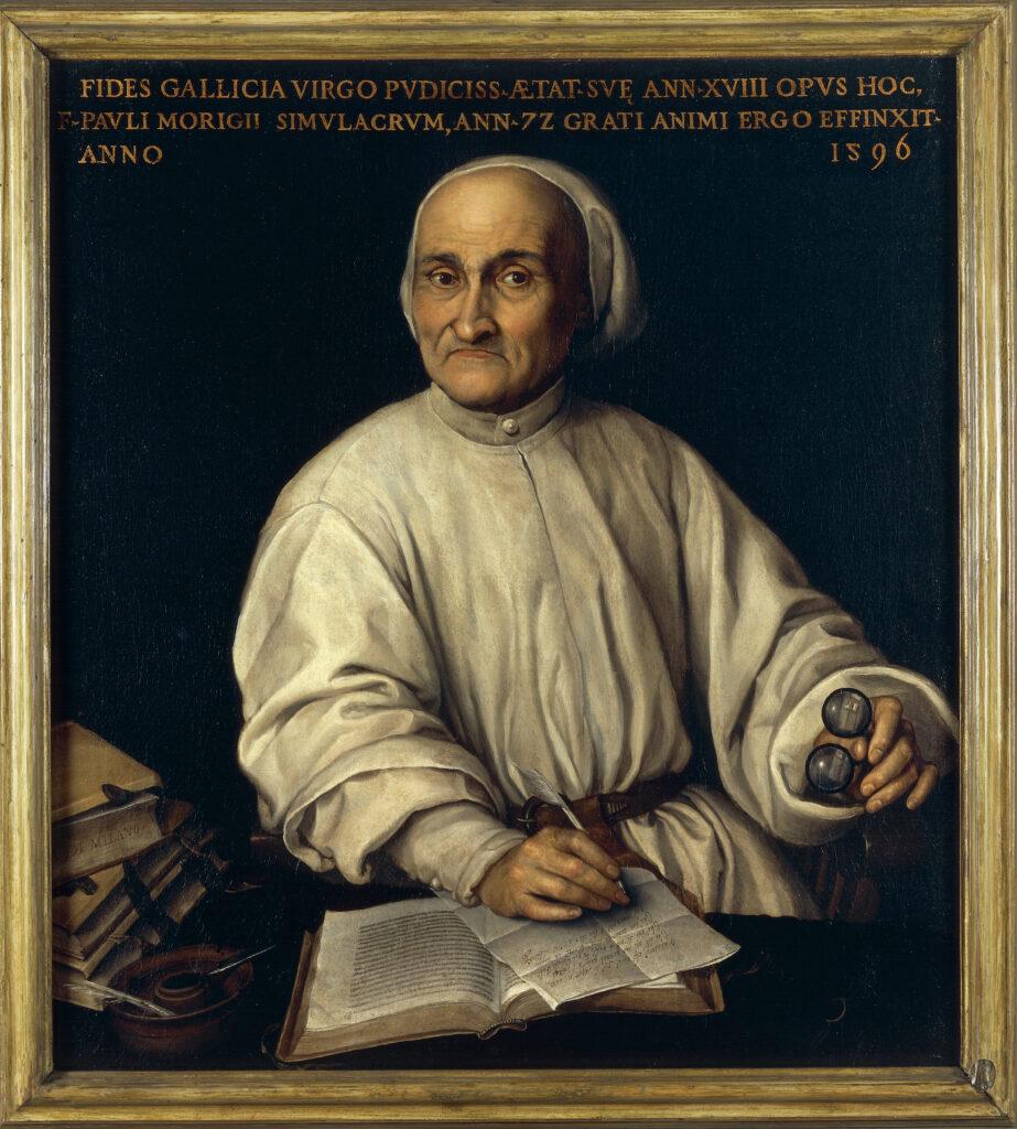 Ritratto di Paolo Morigia Fede Galizia Fonte: Castello del Buonconsiglio