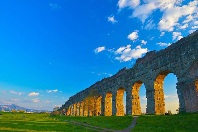World Water Forum 2024. Acquedotto romano. Via Wikimedia Commons.