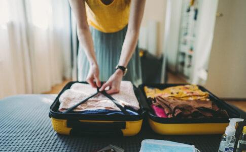 Tornare a viaggiare, valigie