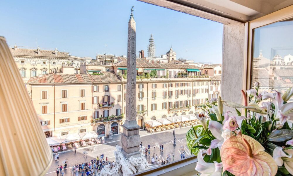 Piazza Navona, Eitch Borromini