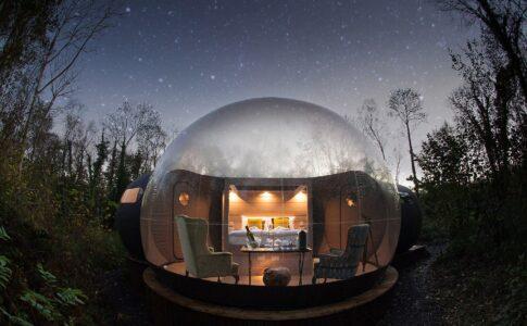 Dormire sotto le stelle Fonte: Tourism Ireland