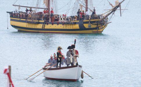 Rievocazione dello sbarco di Napoleone all'Elba. Via Visit Elba.