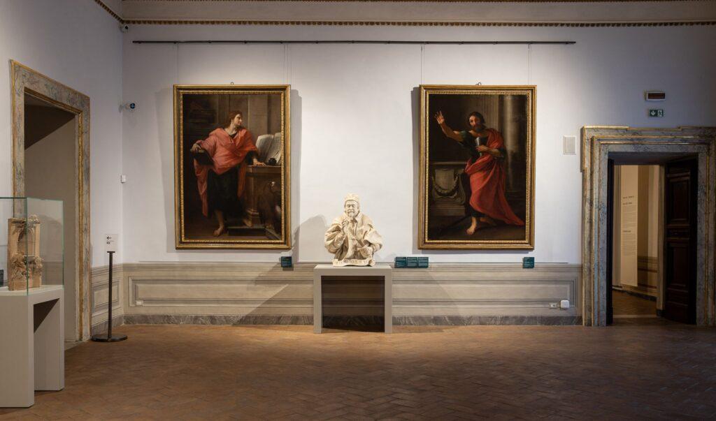 Mostra sui fratelli Preti. Via Palazzo Barberini.