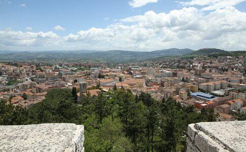 Molise, Campobasso panoramica