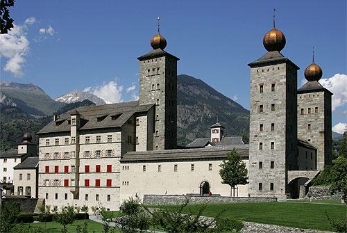 Castello di Stockalper a Briga, patria del Cordon Bleu. Via Wikimedia Commons.