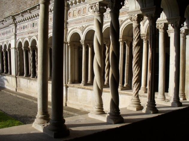 Chiostri di Roma Fonte: Turismo Roma