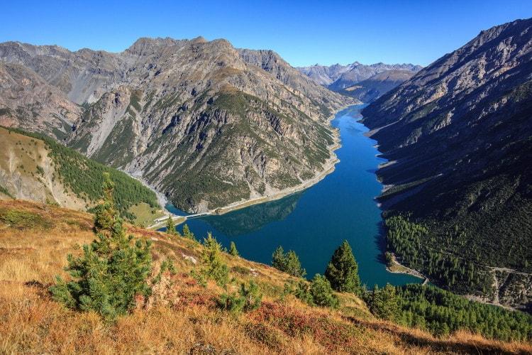 Lago di Livigno. Via Valtellina.it.