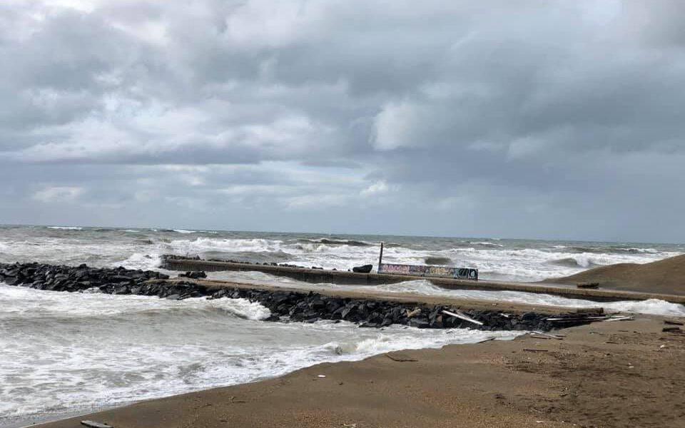 Erosione litorale romano Fonte: SIGEA