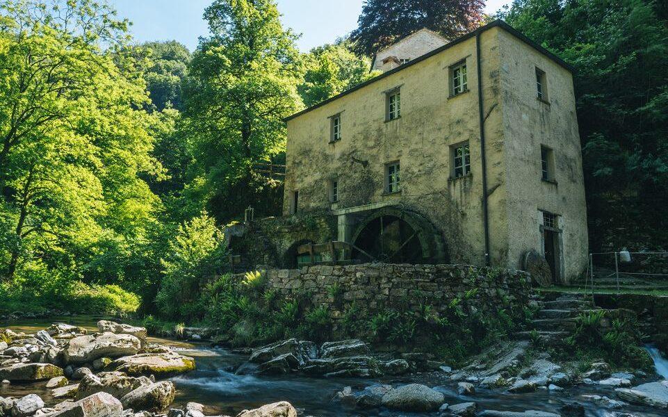 Canton Ticino: mulino di Valle di Muggio. Via Ticino Turismo.