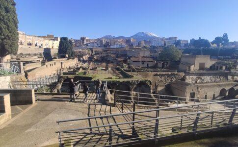 Veduta Ercolano Fonte: Parco Archeologico di Ercolano