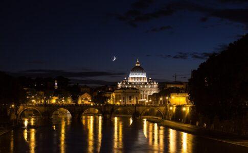 Grand Tour, Roma notturna