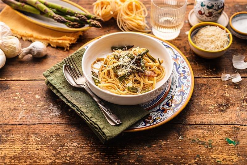 Piatti tipici umbria, Strigozzi agli asparagi