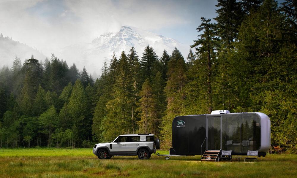 Jaguar Land Rover e Airbnb, Defender Eco Home