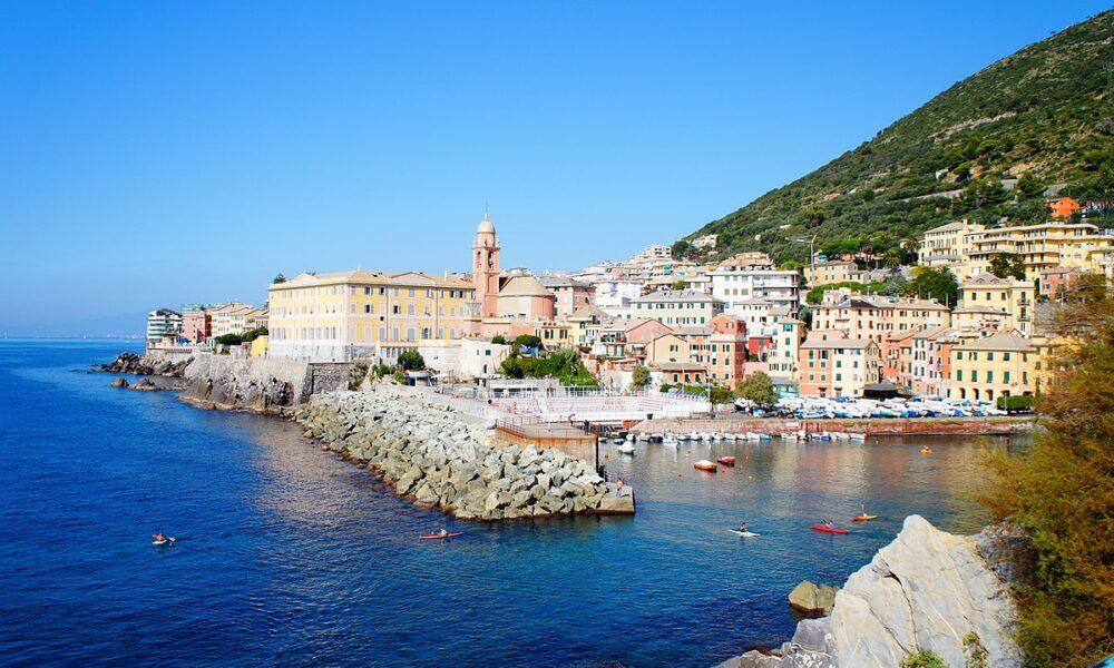 Nervi. Via Visit Genoa.