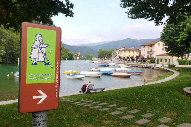 Via Francisca del Lucomagno, partenza