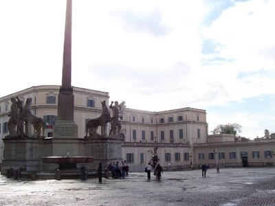 Scuderie del quirinale. Via Wikimedia Commons.