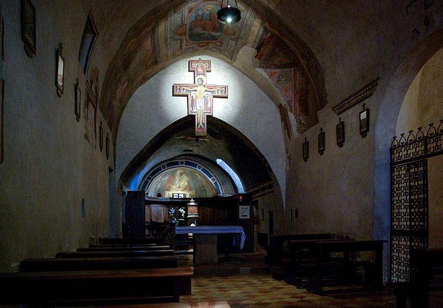 San Damiano ad Assisi. Wikimedia Commons.
