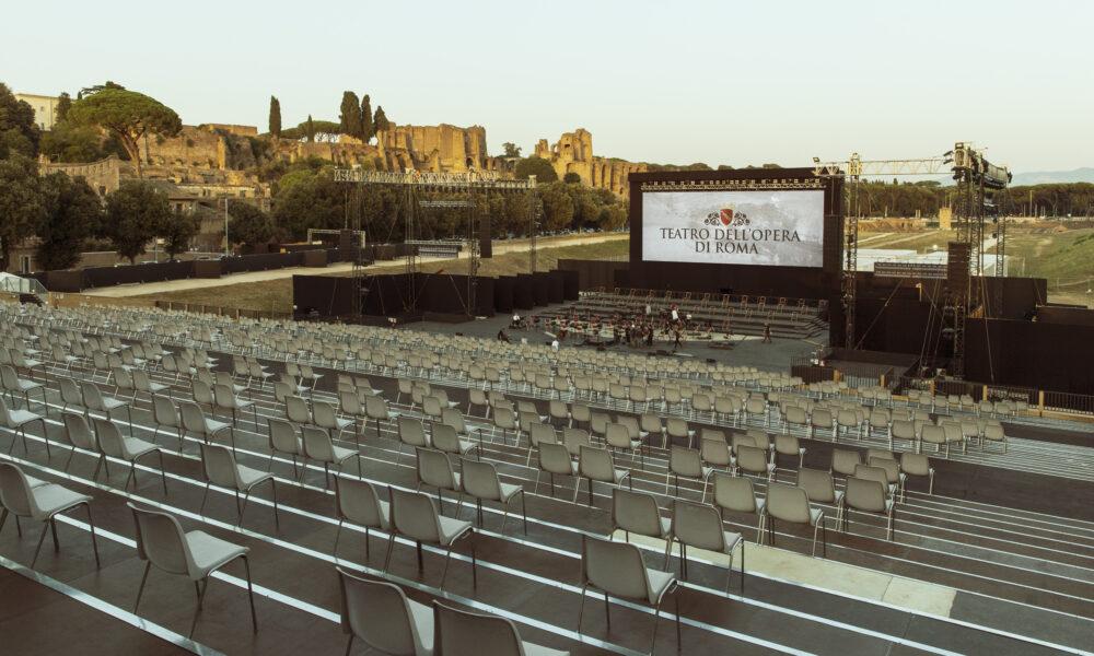 Teatro dell'Opera Roma stagione estiva Circo Massimo ph Yasuko Kageyama