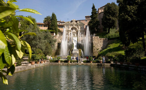 Fontana del Nettuno a Villa d'Este, Tivoli. Via Italia.it