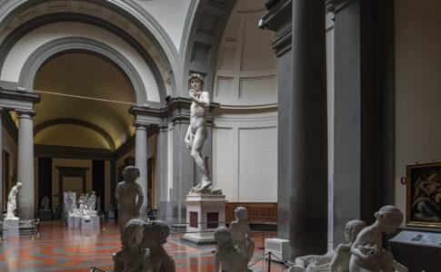 Galleria dell'Accademia di Firenze foto: Guido Cozzi