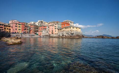 Genova Boccadasse. Via Visit Genoa.