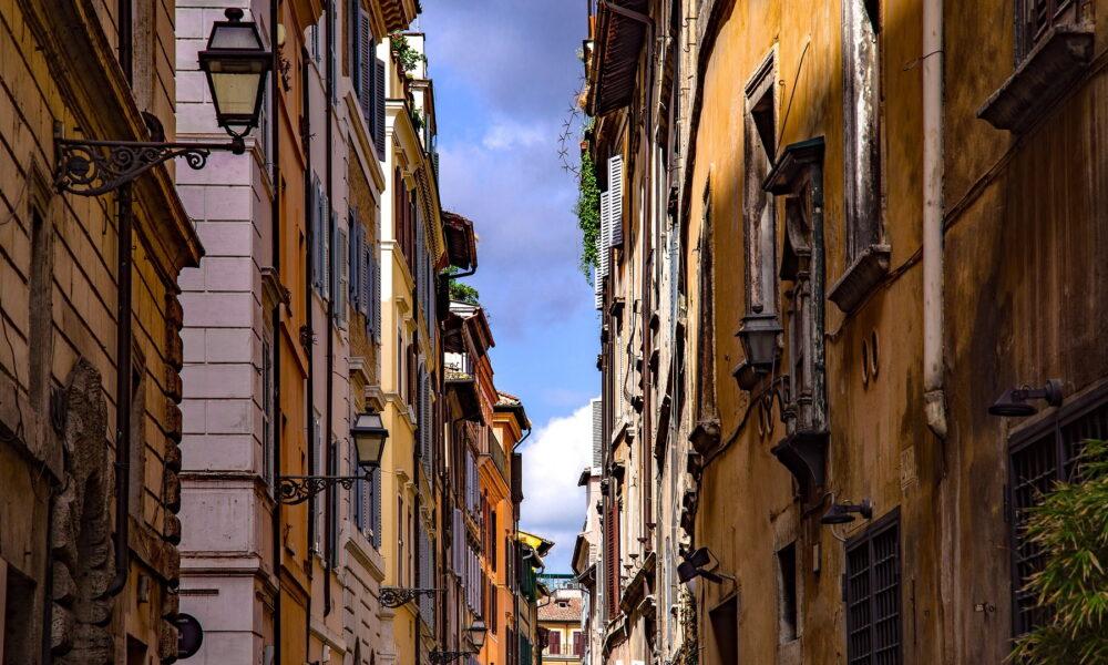 Rioni di Roma. Via Turismo Roma.