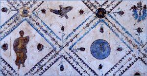 Affreschi di Stabia e Pompei. Via PArco Archeologico di Pompei.