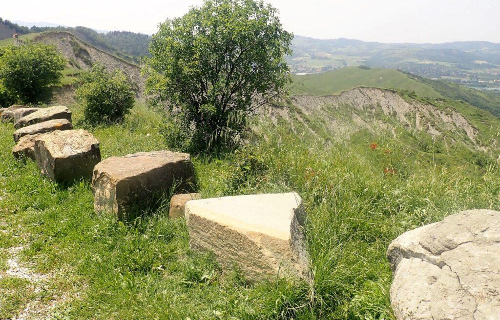 La vista da Sabbiuno (ph. Laura Marina Mandelli).
