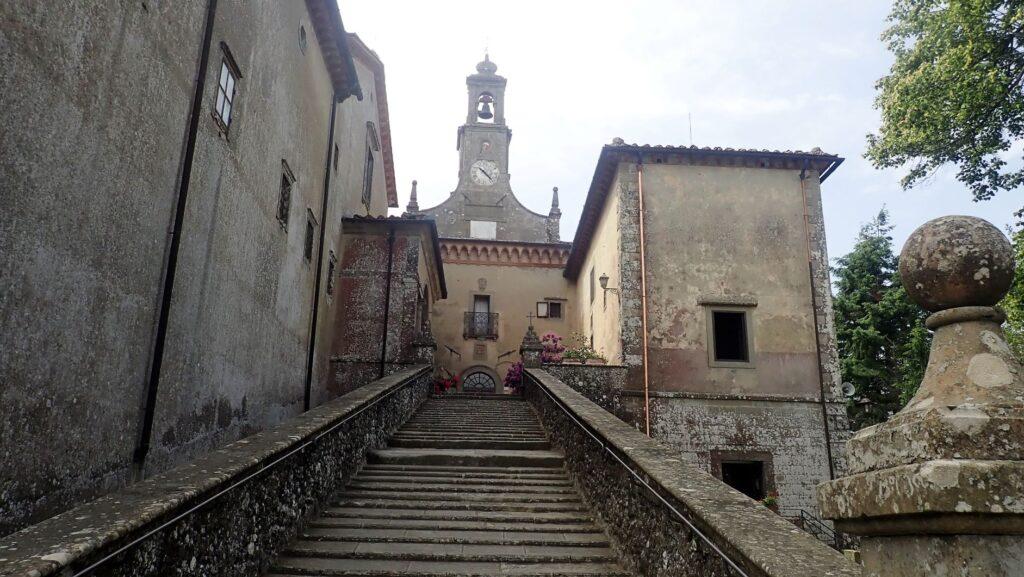 Il convento di Monte Senario (ph. Laura Marina Mandelli).