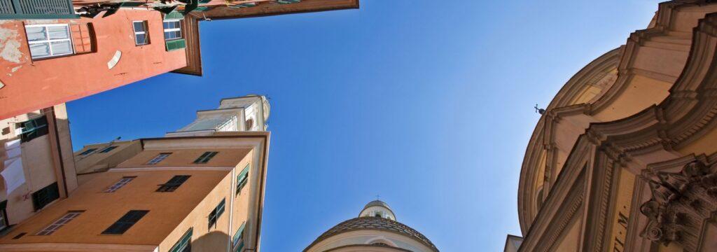Il centro storico di Genova. Via Visit Genoa.