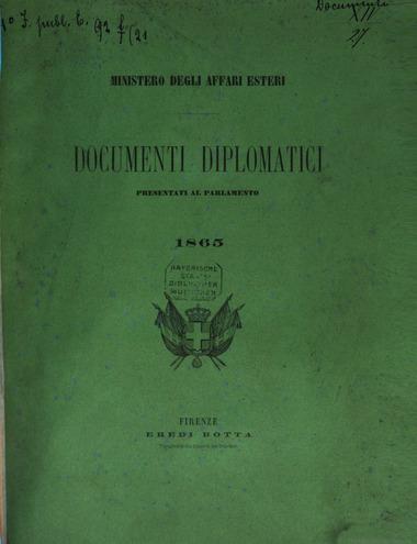 Briganti documenti diplomatici
