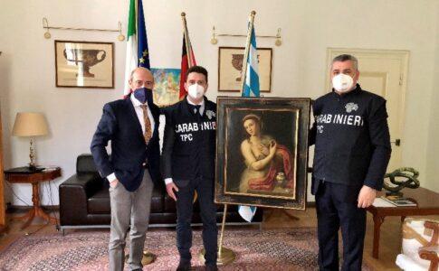 Carabinieri Fonte: Carabinieri per la Tutela del Patrimonio Culturale
