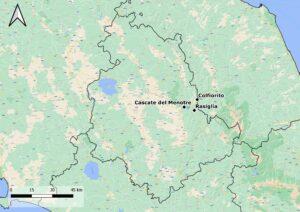Itinerario naturalistico Umbria: Rasiglia, Cascate del Menotre e Colfiorito