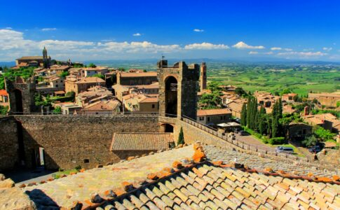 Val d'Orcia Toscana Fonte: Visit Tuscany