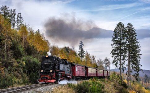 Recovery treno a vapore Credits: geraldfriedrich2
