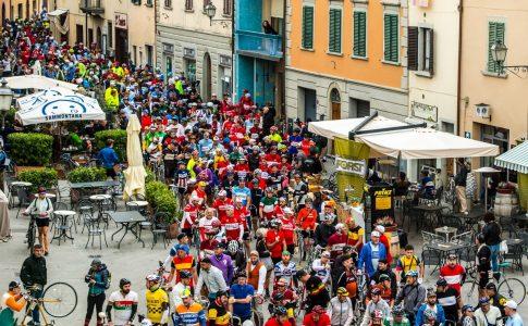 L'Eroica in bici via Gaiole in Chianti