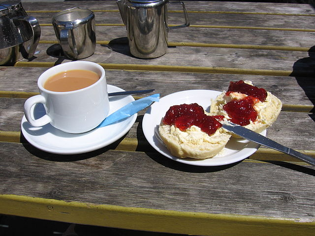 Piatti tipici della Cornovaglia: cornish cream tea