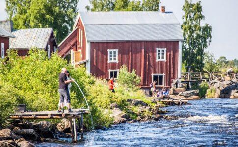 Pesca al coregone a Kukkola © Linnea Isaksson.