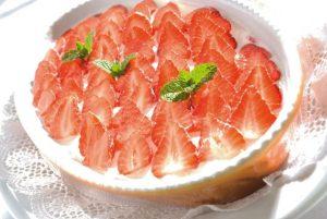 Tiramisù alle fragole Fonte: Turismo Sudtirol