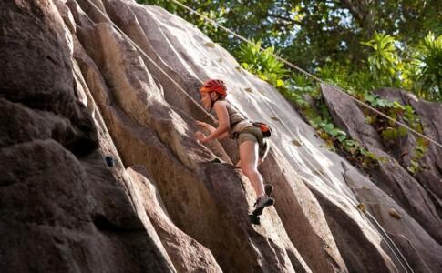 Seychelles climbing. Via Seychelles travel