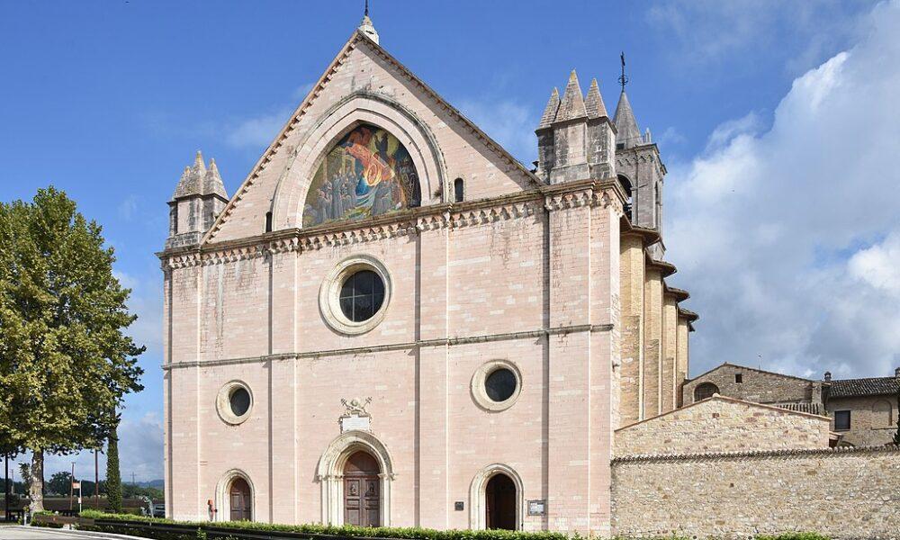 Santa Maria Rivotorto, Assisi. Via Wikimedia Commons.