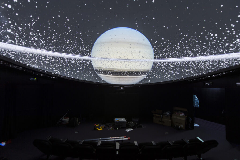 Val D'Ega, Planetario. Via Val D'Ega.