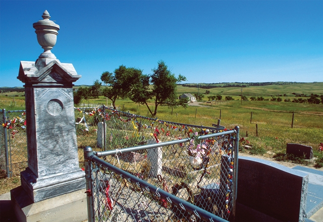 Wounded Knee Massacre Site. Via Great American West.