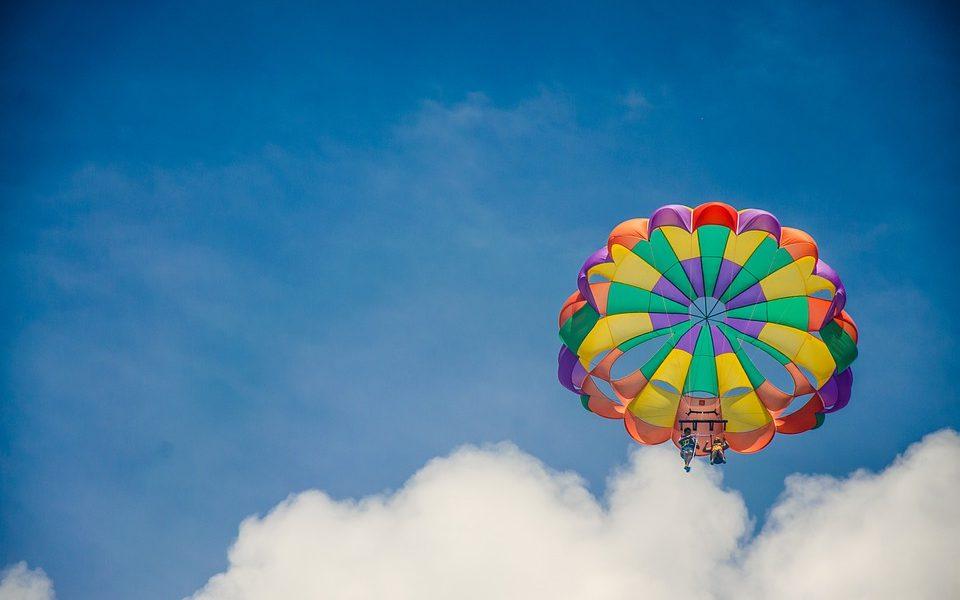 Volo libero in parapendio