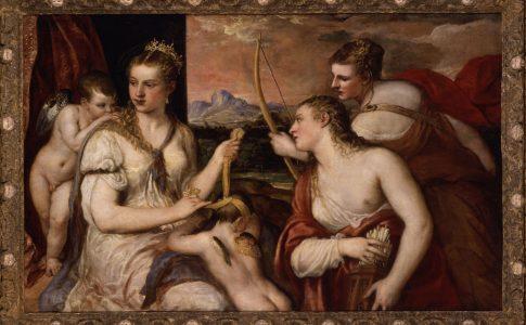 Fondazione Palazzo Te, mostra Tiziano. Venere che benda Amore