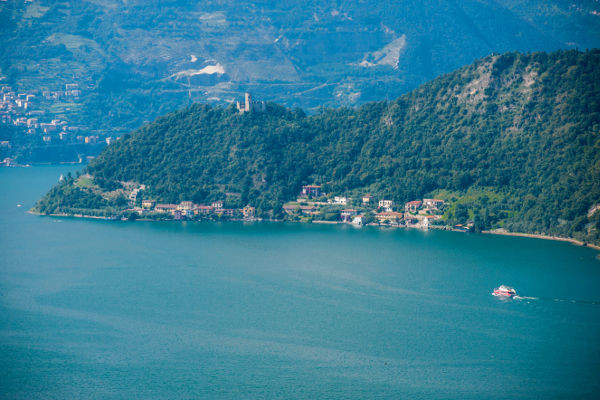 Montisola sul Lago d'Iseo (BS). Via inLombardia.